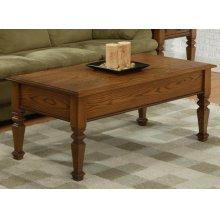 Florentino Leg Supper Table w/No Drawers