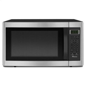 Amana1.6 cu. ft. Countertop Microwave - stainless_steel