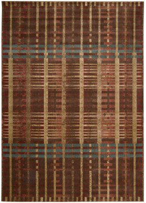 SOMERSET ST71 MULTICOLOR RECTANGLE RUG 5'3'' x 7'5''