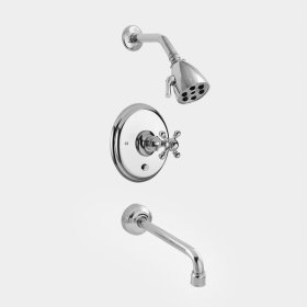 2700 Series Pressure Balance Tub and Shower Set with Tremont X Handle (available as trim only P/N: 1.276268T)