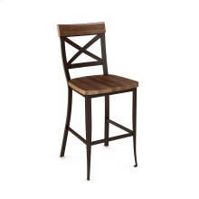 Kyle Non Swivel Stool (distressed)
