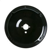 Gas Range Porcelain Black Large Burner Bowl Product Image