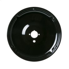 Gas Range Porcelain Black Large Burner Bowl