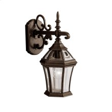 "Townhouse 15.25"" 1 Light Wall Light Tannery Bronze"