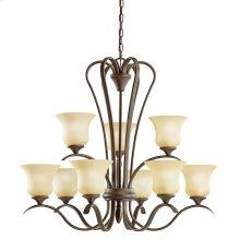 Wedgeport 9 Light Chandelier Olde Bronze®