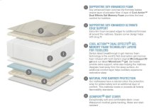 Serta® iComfort® Harmony Deluxe Firm Foam Crib and Toddler Mattress - iComfort Harmony Deluxe Firm Foam Crib and Toddler Mattress