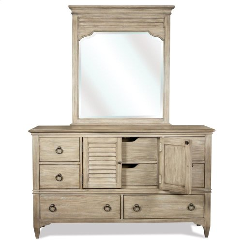 Myra - Door Dresser - Natural Finish