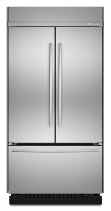 Stainless Steel Jenn-Air® Built-In French Door Refrigerator, 42""