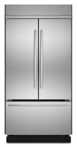 "Stainless Steel Jenn-Air® Built-In French Door Refrigerator, 42"""