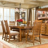Pasadena Revival Dining Trestle Table Product Image