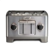 4 Slice Toaster - Brushed Stainless Knob