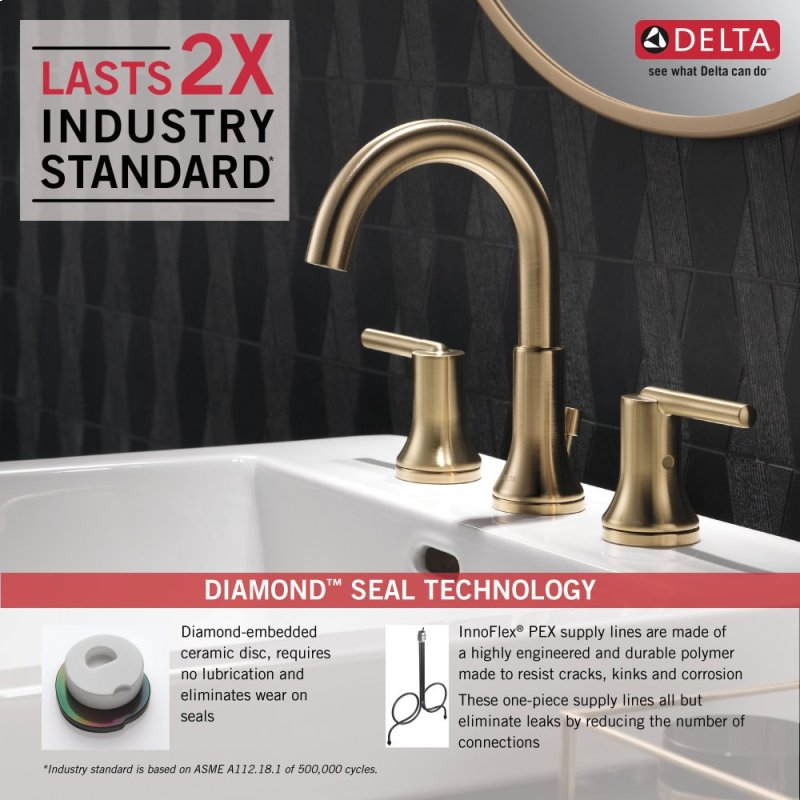 3559CZMPUDST in Champagne Bronze by Delta Faucet Company in Raleigh ...