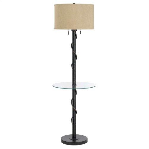 60W X 2 Springs Iron Floor Lamp