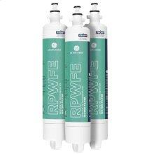 GE® RPWFE REFRIGERATOR WATER FILTER 3-PACK