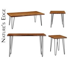 Nature's Edge Desk W/ Drawer-light Chestnut