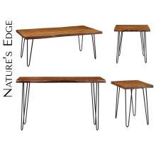 Nature's Edge Desk W/ Drawer-light Chestnut