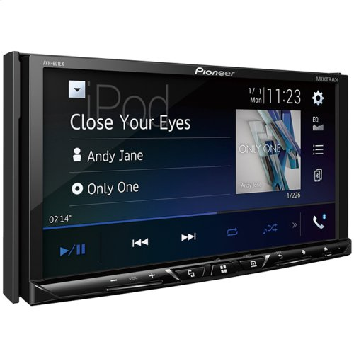"Multimedia DVD Receiver with 7"" WVGA Display, Built-in Bluetooth®, HD Radio "" Tuner, SiriusXM-Ready "" and AppRadio Mode + and Remote Control Included and two camera inputs"