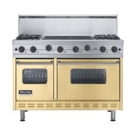 "Golden Mist 48"" Sealed Burner Range - VGIC (48"" wide, four burners 24"" wide char-grill)"