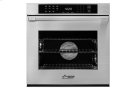 """Heritage 27"""" Single Wall Oven, Silver Stainless Steel with Flush Handle Product Image"""