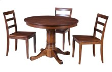 "36"" Solid Top Pedestal Table"