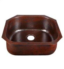 D-Bowl Black Copper Bar/Prep Sink