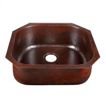 D-Bowl Black Copper Bar/Prep Sink