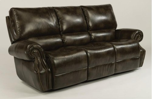 Colton Fabric Power Reclining Sofa with Power Headrests