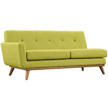 Engage Left-Arm Loveseat in Wheatgrass