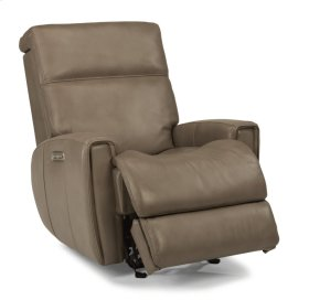 Lyric Leather Power Gliding Recliner with Power Headrest