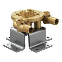 Moen single riser concrete mounting kit
