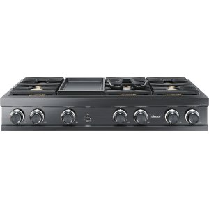 "Dacor48"" Rangetop, Graphite, High Altitude Natural Gas"