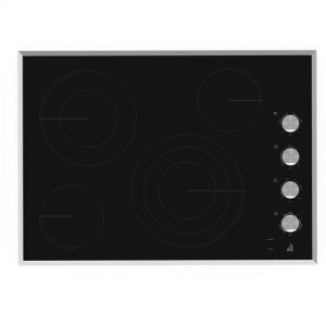 "Jenn-AirJenn-Air® Lustre Stainless 30"" Electric Radiant Cooktop - Stainless Steel"
