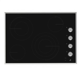 "Jenn-Air(R) Lustre Stainless 30"" Electric Radiant Cooktop - Stainless Steel"