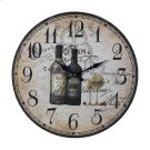 FRENCH WINE BOTTLES CLOCK Product Image