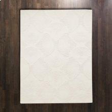 Arches Rug-Ivory/Ivory-9 x 12