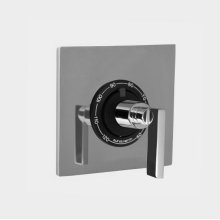 """1/2"""" Thermostatic Shower Set with Stixx Handle and Square Plate with No Volume Control (available as trim only P/N: 1.059596.V0T)"""