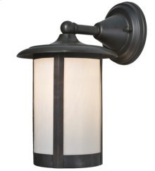 "8""W Fulton Solid Mount Wall Sconce"