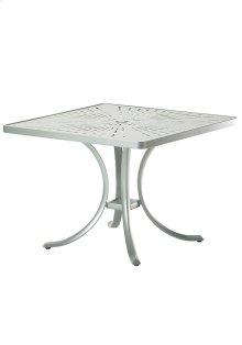 """La'Stratta 36"""" Square Dining Umbrella Table"""
