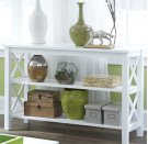 Sofa Table Pure White Product Image