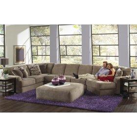 Armless Sofa - Taupe