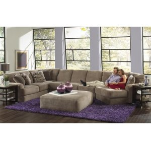Jackson FurnitureArmless Loveseat - Taupe