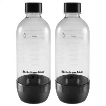 KitchenAid® Reusable Carbonating Bottle - Twin Pack (Fits model KSS1121) - Onyx Black