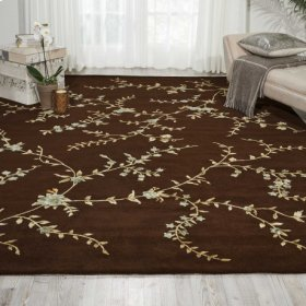 MODERN ELEGANCE LH06 BRN RECTANGLE RUG 8' x 11'