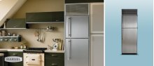 "30"" Refrigerator with Top Freezer - 30"" Marvel Refrigerator with Top Freezer - White Interior, Stainless Steel Door, Right Hinge"