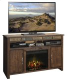 "Old West 60"" Fireplace Console Product Image"