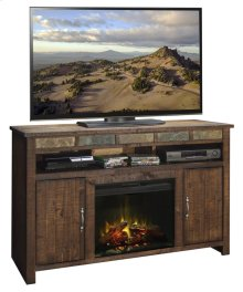 """Old West 60"""" Fireplace Console"""