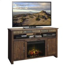 "Old West 60"" Fireplace Console"