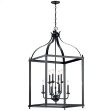 Larkin 8 Light Foyer Pendant Black
