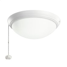 White LED fan fixture WH