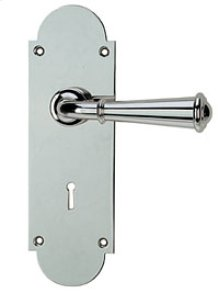 Newtown Turned Lever Set - Privacy (Passage TL w/Mortise Bolt , 2-3/8 BS)